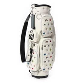 【大型商品180】エムユー スポーツ MU SPORTS ゴルフ キャディバッグ モノグラム柄軽量キャディバッグ 703W6106