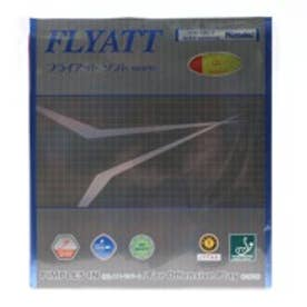 ニッタク Nittaku  卓球ラバー フライアット ソフト 厚さ:中 裏ソフト NR8561 レッド