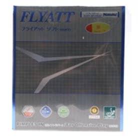 ニッタク Nittaku  卓球ラバーフライアットソフト 厚さ:厚 ソフトレッド
