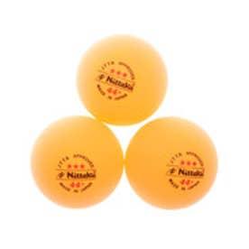 ニッタク Nittaku 卓球 試合球(ラージボール用) ラージボール44プラ 3スター NB1010
