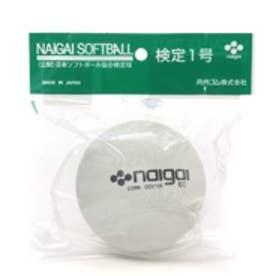 ナイガイ naigai ソフトボール ジュニアナイガイソフトボール 検定1号