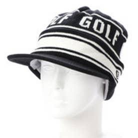 ニューエラ NEW ERA ゴルフ ニット帽子 キャップ KNIT ブラック 11781151