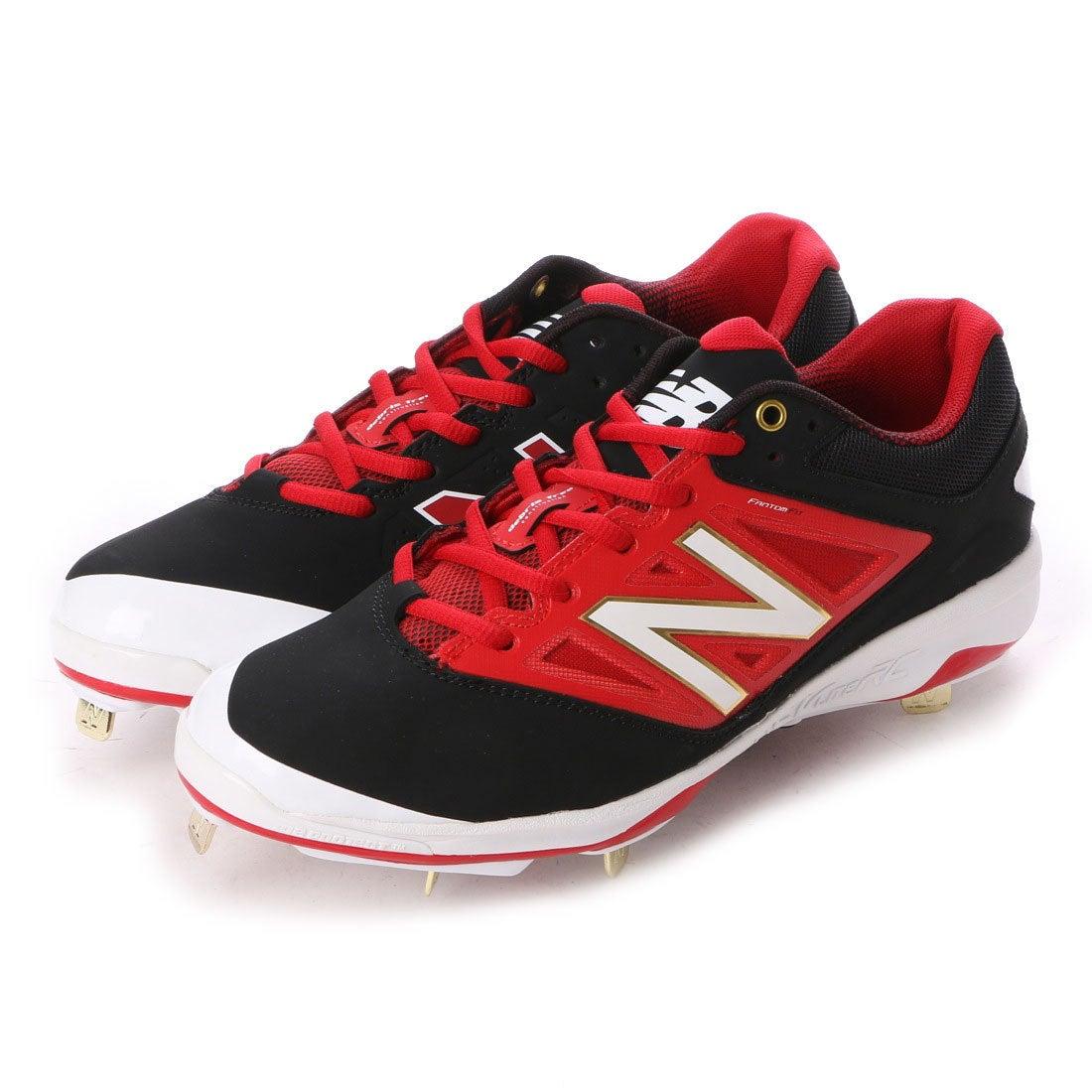 ニューバランス new balance 野球スパイク L4040V3 BR3 L4040D (ブラック×レッド)