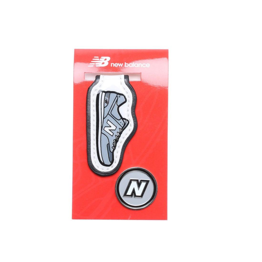 ニューバランス new balance メンズ ゴルフ マーカー ポケット用シューズモチーフクリップマーカー 7284008