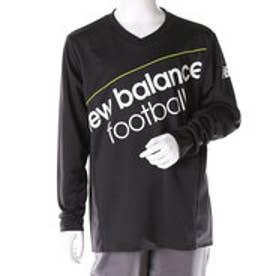 【アウトレット】ニューバランス new balance ジュニア サッカー/フットサル 長袖シャツ VISAROプラクティスL/Sシャツ JJTF6644