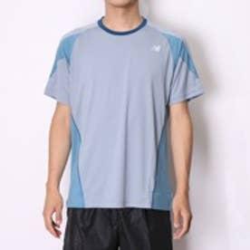 【アウトレット】ニューバランス new balance メンズ半袖Tシャツ  NB NBR52115M15F ブルー  (ブルーグレー)