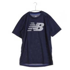 ニューバランス new balance メンズ テニス 半袖Tシャツ BRベーシックショートスリーブビッグロゴTシャツ  JMTT6136