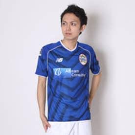 ニューバランス new balance サッカーレプリカシャツ  JMTF6906 MYB  (ブルー×ブラック)