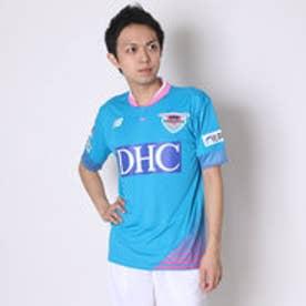 ニューバランス new balance サッカーレプリカシャツ  JMTF6902 SBL  (ブルー×ピンク)