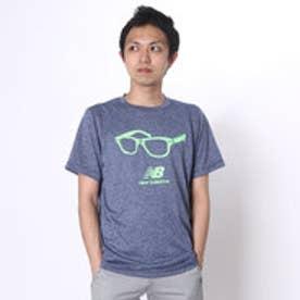 ニューバランス new balance メンズ半袖Tシャツ  NB JMTR6106 16S               (ネイビー)