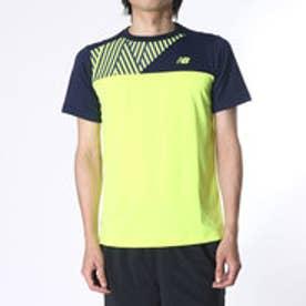 ニューバランス new balance メンズ テニス 半袖Tシャツ BRコンペティションカラーブロッククルー JMTT6674