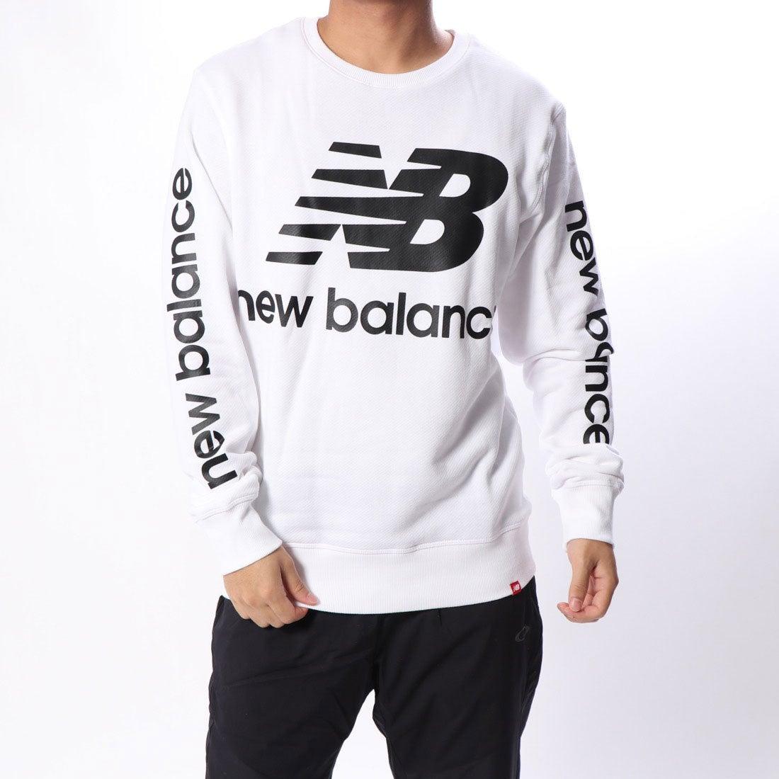 a5fc3526bb347 ニューバランス new balance メンズ スウェットトレーナー NBロゴクルー MT83573 -レディースファッション通販  ロコンドガールズコレクション (ロココレ)