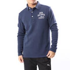 ニューバランス new balance メンズ ゴルフ 長袖シャツ ダブルフェイス裏起毛カラーシャツ 0128269005