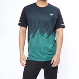 ニューバランス new balance メンズ 陸上/ランニング 半袖Tシャツ NB HANZO NBICE プリントショートスリーブTシャツ AMT83200