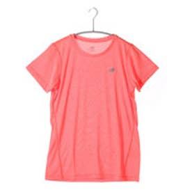 ニューバランス new balance レディースランニング半袖Tシャツ JWT53180  JWT53180 (ドラゴンヘザー)