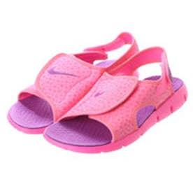 ナイキ NIKE サンダル NKサンレイ4GSPK8168 NKサンレイ4GSPK8168 ピンク 8168 (ピンク)