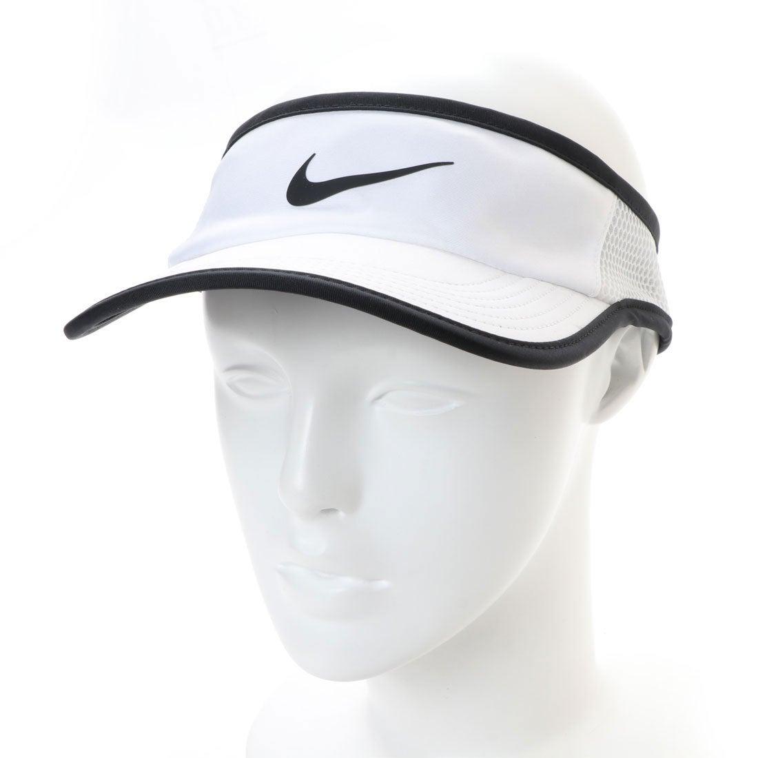 ナイキ NIKE テニス サンバイザー ナイキコート エアロビル フェザーライト アジャスタブル バイザー 899654101 レディース メンズ
