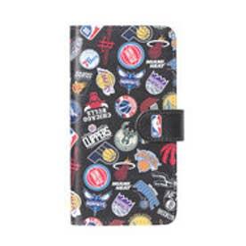 ナイキ NIKE バスケットボール ウェア/小物 手帳型スマホカバー(マルチ) ALL OVER BLK NBA32353