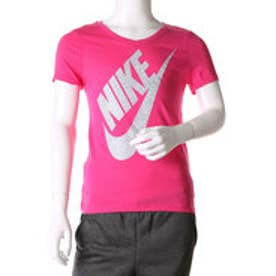 ナイキ NIKE ジュニア 半袖Tシャツ YTH ガールズ V ネック BMロゴ Tシャツ 822509616