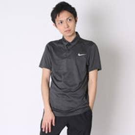 【アウトレット】ナイキ NIKE ゴルフシャツ ナイキ DRI-FIT MM フライスイングニットフレームSSポロ 725512 (ブラック)