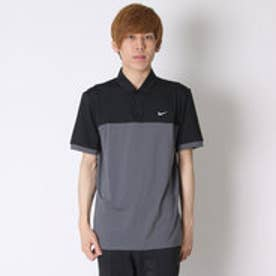 【アウトレット】ナイキ NIKE ゴルフシャツ ナイキ DRI-FIT アイコンカラーブロックSSポロ 725528 (ブラック)