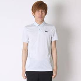 【アウトレット】ナイキ NIKE ゴルフシャツ ナイキ DRI-FIT MM フライスイングニットフレームSSポロ 725512 (ピュアプラチナ)