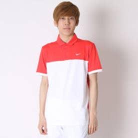 【アウトレット】ナイキ NIKE ゴルフシャツ ナイキ DRI-FIT アイコンカラーブロックSSポロ 725528 (ライトクリムゾン)