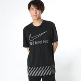 ナイキ NIKE メンズ 陸上/ランニング 半袖Tシャツ DRI-FIT ブレンド ストライプ スウッシュ Tシャツ 831886010