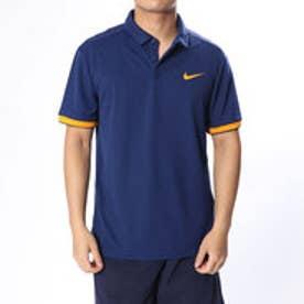 ナイキ NIKE メンズ テニス 半袖ポロシャツ ナイキコート ドライ ポロ チーム 830850492 (ネイビー)