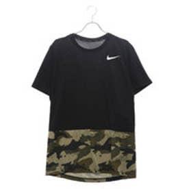 ナイキ NIKE メンズ 半袖機能Tシャツ DRI-FIT ブリーズ ハイパードライ 2L カモ S/S トップ AQ1092010