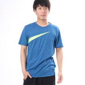 ナイキ NIKE ユニセックス 半袖Tシャツ ナイキ DRI-FIT ドライ ドライブレンド ロゴ スウッシュ Tシャツ 841632457