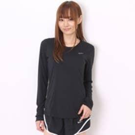 ナイキ NIKE レディースランニング長袖Tシャツ  NK 686905 マイラー  ブラック  (ブラック)