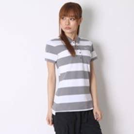 ナイキ NIKE ゴルフシャツ ナイキ Ws DRI-FIT プレシジョンストライプピケSSポロ 725633 (カーボンヘザー)