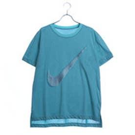 ナイキ NIKE レディース フィットネス 半袖Tシャツ ウィメンズ ドライ DRI-FIT HIGH LOW スウッシュ Tシャツ 851573446