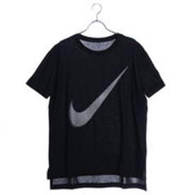 ナイキ NIKE レディース フィットネス 半袖Tシャツ ウィメンズ ドライ DRI-FIT HIGH LOW スウッシュ Tシャツ 851573010