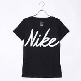 ナイキ NIKE レディース フィットネス 半袖Tシャツ ウィメンズ ドライ DFC ビック スクリプト Tシャツ AJ3698010