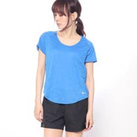 ナイキ NIKE レディース 陸上/ランニング 半袖Tシャツ ウィメンズ ブリーズ 10K ジャカード S/S トップ 891175403 (ブルー)