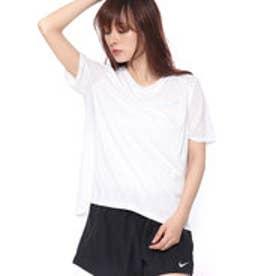 ナイキ NIKE レディース 陸上/ランニング 半袖Tシャツ ウィメンズ DRI-FIT マイラー S/S トップ 932500100 (ホワイト)