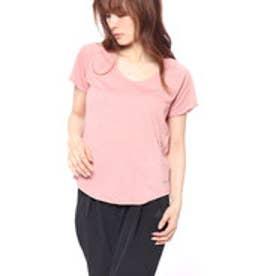 ナイキ NIKE レディース 陸上/ランニング 半袖Tシャツ ウィメンズ ブリーズ 10K ジャカード S/S トップ 891175685 (ピンク)
