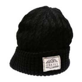 オニール O'NEILL ニット帽 635-902 ニット ブラック (ブラック)
