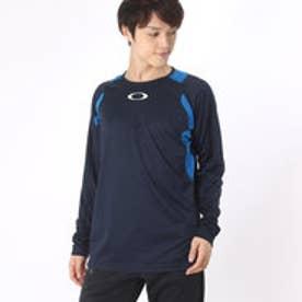オークリー OAKLEY メンズ 長袖機能Tシャツ Enhance LS Crew 6.7.02 433806JP (ネイビー)