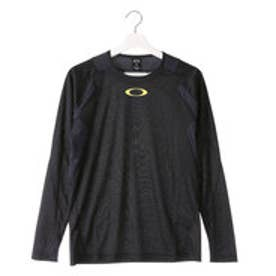 オークリー OAKLEY メンズ 長袖機能Tシャツ Enhance LS Crew 6.7.02 433806JP (ブラック)