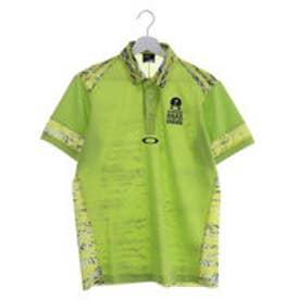 オークリー OAKLEY メンズ ゴルフ 半袖シャツ Bark Back Side Blind Terra Shirts 433955JP