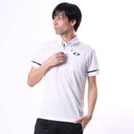オークリー OAKLEY メンズ ゴルフ 半袖シャツ Bark Lined Logo Shirts 433956JP