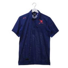 オークリー OAKLEY メンズ ゴルフ 半袖シャツ Skull Masculine Zip Shirts 2.0 433967JP