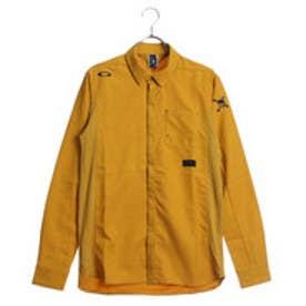 オークリー OAKLEY メンズ ゴルフ 長袖シャツ Skull Dot Woven LS Shirts 434078JP