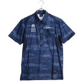 オークリー OAKLEY メンズ ゴルフ 半袖シャツ Bark Clouded Shirts 434086JP