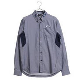 オークリー OAKLEY メンズ ゴルフ 長袖シャツ Bark Chambray Woven LS Shirts 434087JP