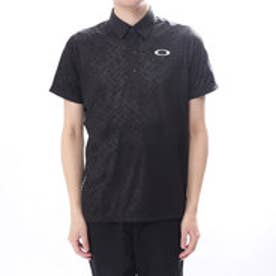 オークリー OAKLEY メンズ ゴルフ 半袖 シャツ Bark Taped Emboss Shirts 434186JP
