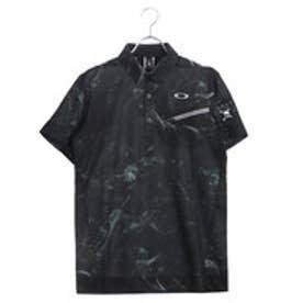 オークリー OAKLEY メンズ ゴルフ 半袖 シャツ Skull Mystify Shirts 434177JP